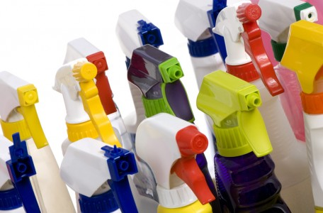 bottles and sprays for design products